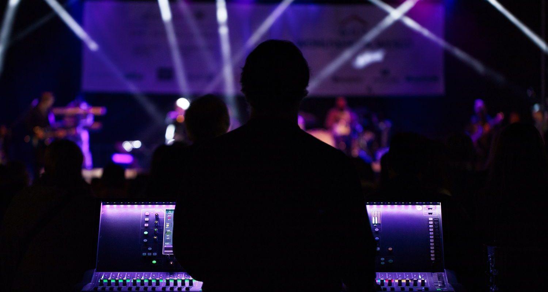 Karaoke Veranstaltung aus Sicht des Tontechnikers