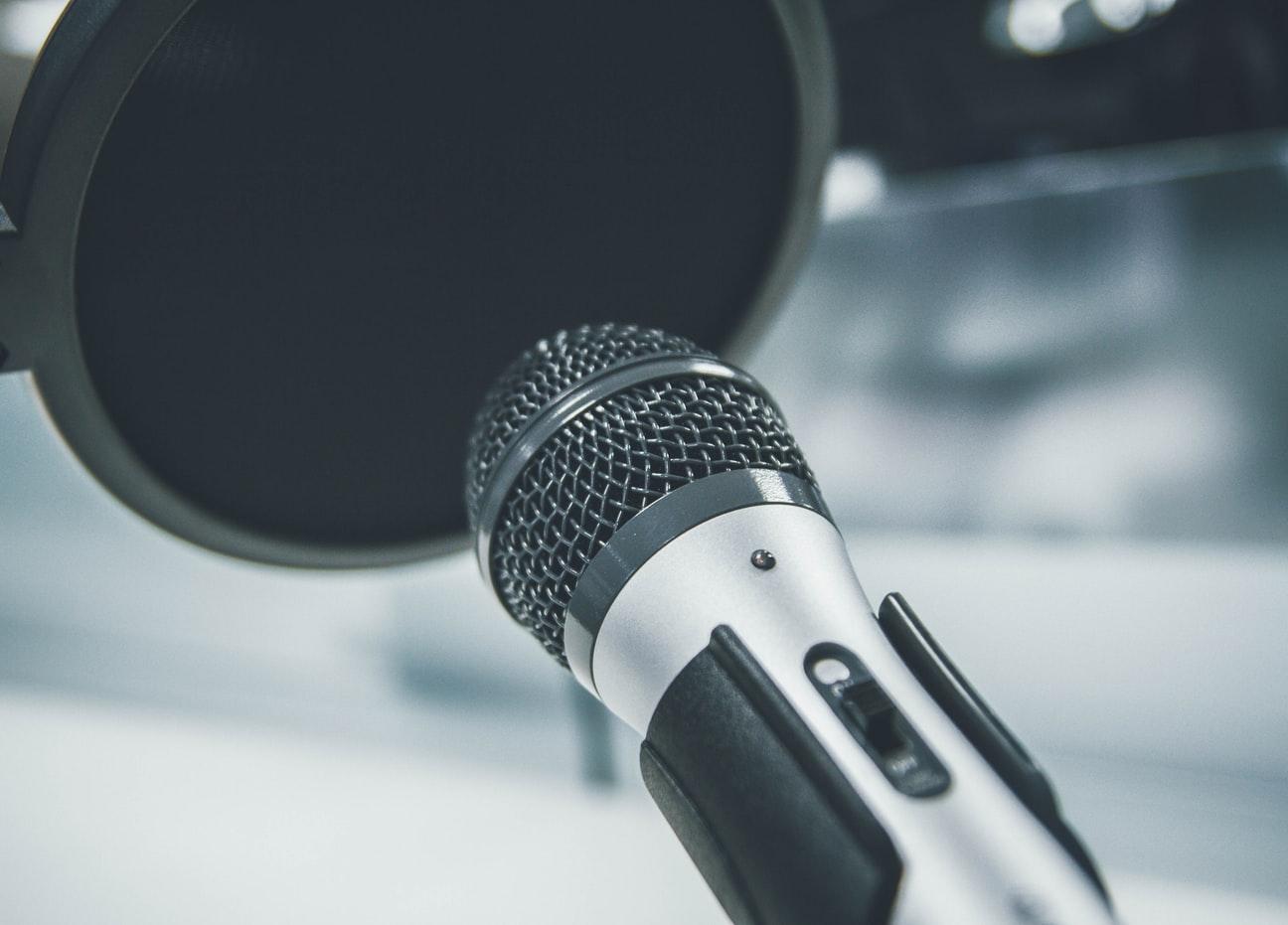 Mikrofon Karaoke Singen Fehler